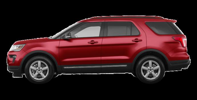 2018 Ford Explorer XLT | Photo 4 | Ruby Red Metallic