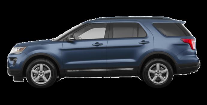 2018 Ford Explorer XLT | Photo 4 | blue metallic