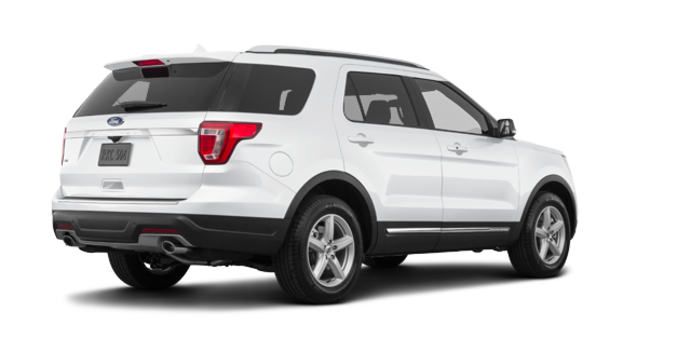 2018 Ford Explorer XLT | Photo 5 | White Platinum Metallic