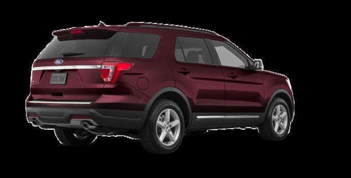 2018 Ford Explorer XLT | Photo 5 | Burgundy Velvet Metallic