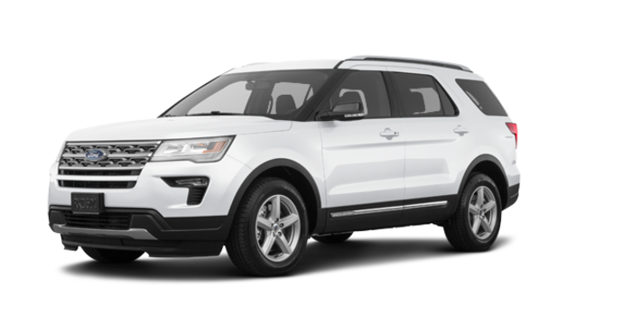 2018 Ford Explorer XLT | Photo 6 | White Platinum Metallic