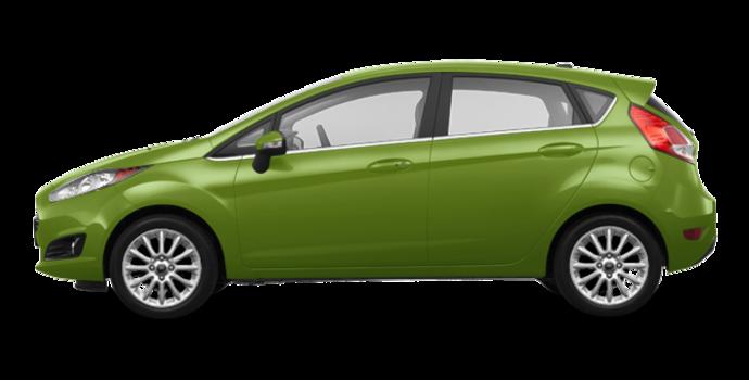 2018 Ford Fiesta Hatchback TITANIUM | Photo 4 | Outrageous Green