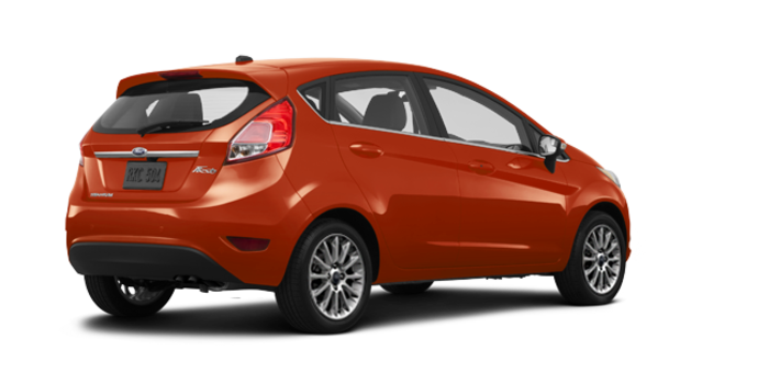 2018 Ford Fiesta Hatchback TITANIUM | Photo 5 | Hot Pepper Red