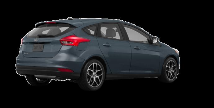 2018 Ford Focus Hatchback SEL   Photo 5   Blue Metallic