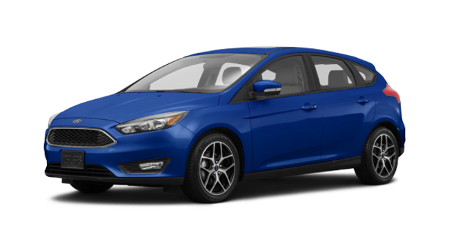 2018 Ford Focus Hatchback SEL   Photo 6   Lightning Blue