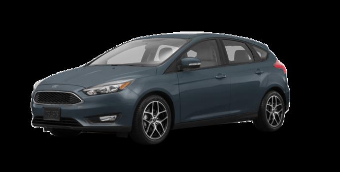 2018 Ford Focus Hatchback SEL   Photo 6   Blue Metallic