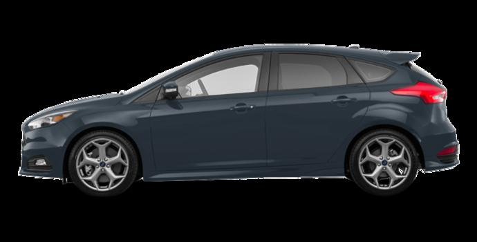 2018 Ford Focus Hatchback ST   Photo 4   Blue Metallic