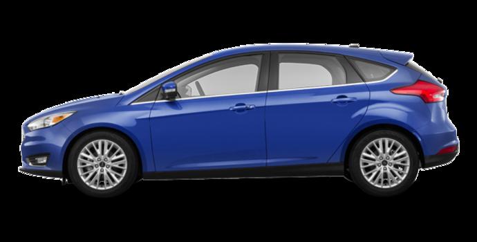 2018 Ford Focus Hatchback TITANIUM | Photo 4 | Lightning Blue