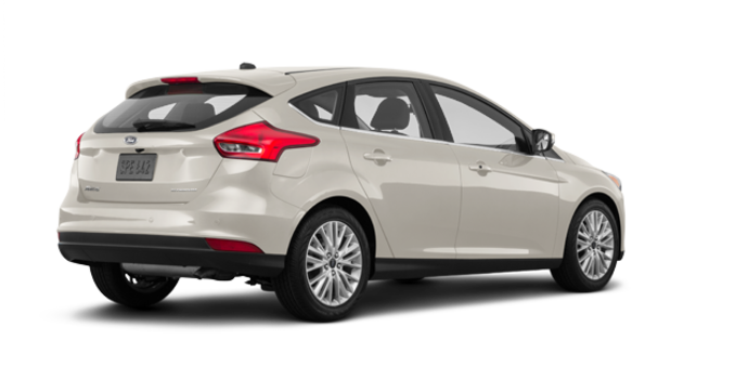 2018 Ford Focus Hatchback TITANIUM | Photo 5 | White Gold