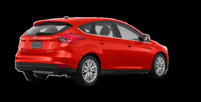 2018 Ford Focus Hatchback TITANIUM | Photo 5 | Hot Pepper Red Metallic