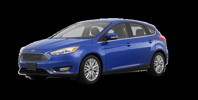 2018 Ford Focus Hatchback TITANIUM | Photo 6 | Lightning Blue