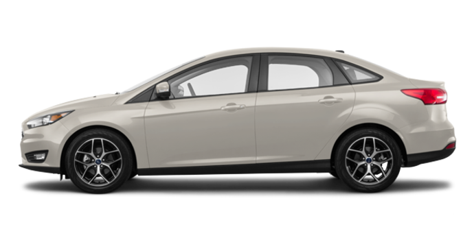 2018 Ford Focus Sedan SEL   Photo 4   White Gold