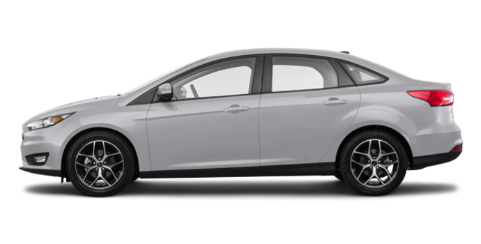 2018 Ford Focus Sedan SEL   Photo 4   Ingot Silver Metallic