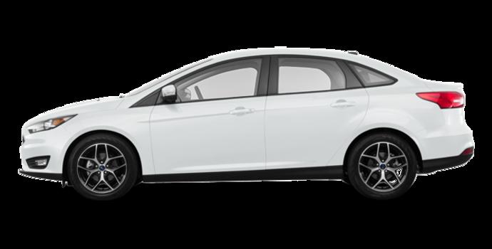 2018 Ford Focus Sedan SEL   Photo 4   Oxford White