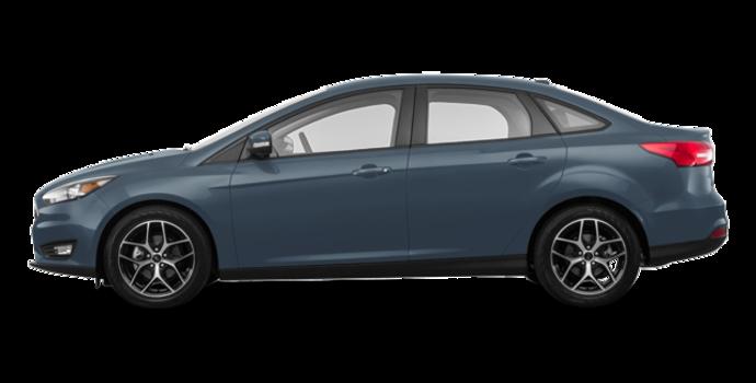 2018 Ford Focus Sedan SEL   Photo 4   Blue Metallic