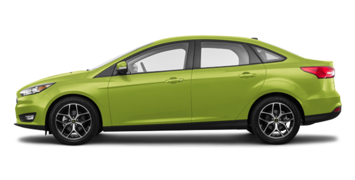 2018 Ford Focus Sedan SEL   Photo 4   Outrageous Green Metallic