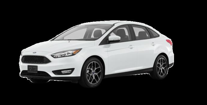 2018 Ford Focus Sedan SEL   Photo 6   Oxford White