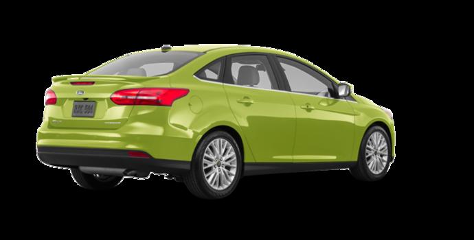 2018 Ford Focus Sedan TITANIUM | Photo 5 | Outrageous Green Metallic