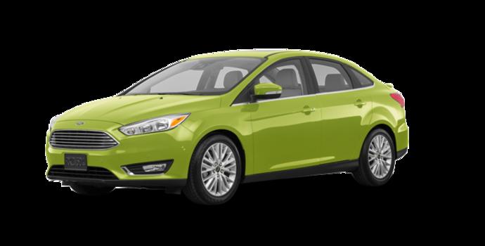 2018 Ford Focus Sedan TITANIUM | Photo 6 | Outrageous Green Metallic