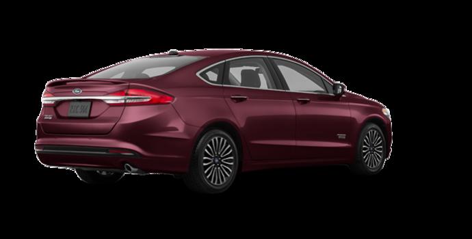 2018 Ford Fusion Energi PLATINUM | Photo 5 | Burgundy Velvet