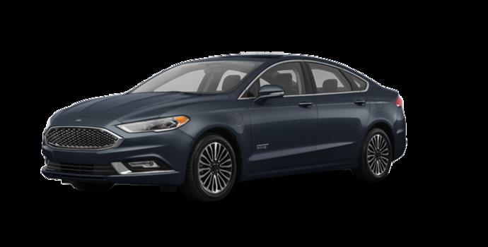 2018 Ford Fusion Energi PLATINUM | Photo 6 | Blue Metallic