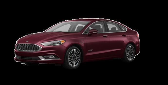 2018 Ford Fusion Energi PLATINUM | Photo 6 | Burgundy Velvet