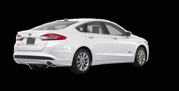 2018 Ford Fusion Energi SE | Photo 5 | White Platinum