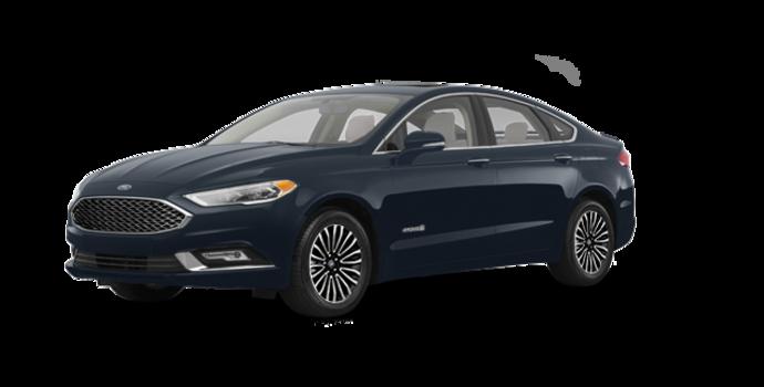 2018 Ford Fusion Hybrid PLATINUM | Photo 6 | Blue Metallic
