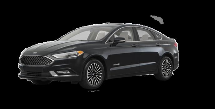 2018 Ford Fusion Hybrid PLATINUM | Photo 6 | Shadow Blakc