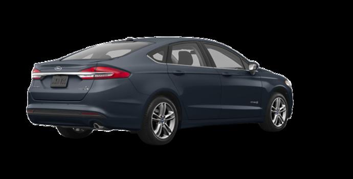 2018 Ford Fusion Hybrid S | Photo 5 | Blue Metallic