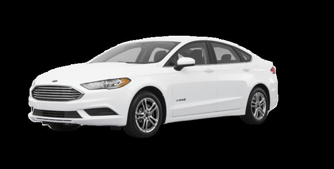 2018 Ford Fusion Hybrid S | Photo 6 | Oxford White