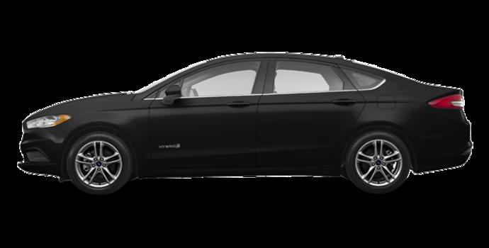 2018 Ford Fusion Hybrid SE   Photo 4   Shadow Blakc