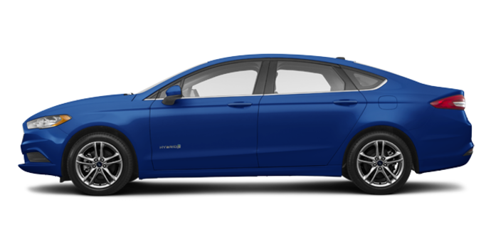 2018 Ford Fusion Hybrid SE   Photo 4   Lightning Blue