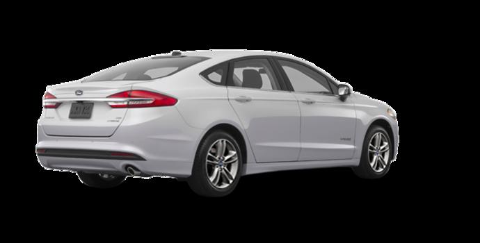 2018 Ford Fusion Hybrid SE   Photo 5   Ingot Silver