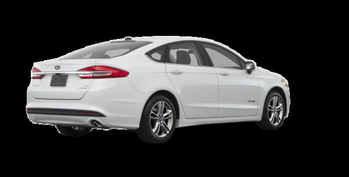 2018 Ford Fusion Hybrid SE   Photo 5   White Platinum