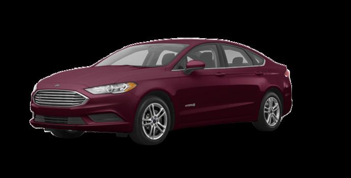 2018 Ford Fusion Hybrid SE   Photo 6   Burgundy Velvet