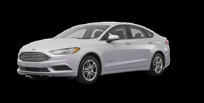 2018 Ford Fusion Hybrid SE   Photo 6   Ingot Silver