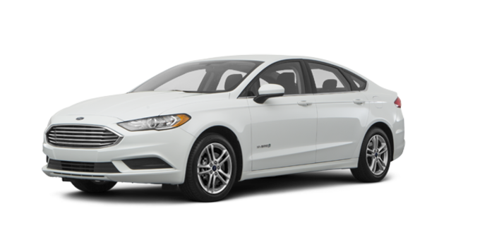 2018 Ford Fusion Hybrid SE   Photo 6   White Platinum