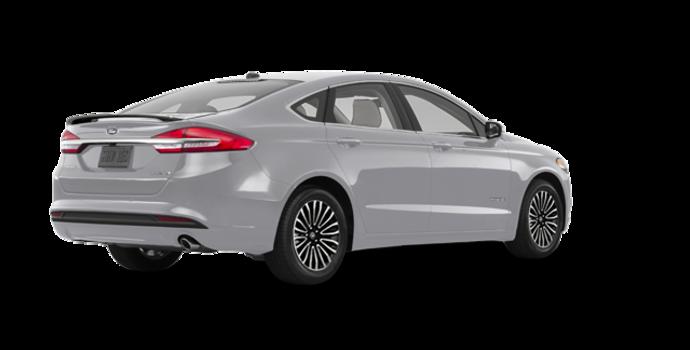 2018 Ford Fusion Hybrid TITANIUM   Photo 5   Ingot Silver