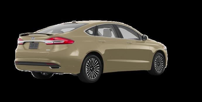 2018 Ford Fusion TITANIUM | Photo 5 | White Gold