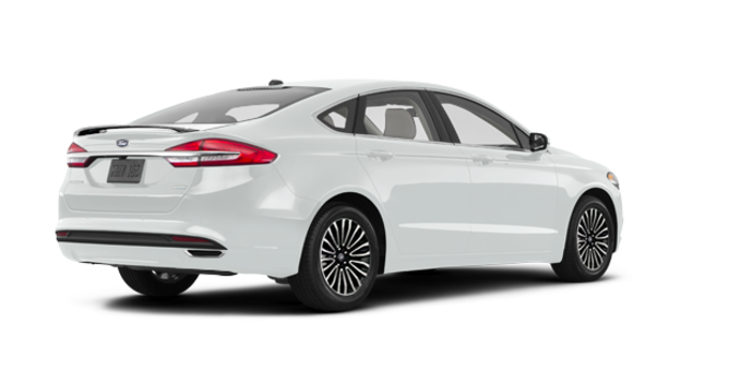 2018 Ford Fusion TITANIUM | Photo 5 | White Platinum
