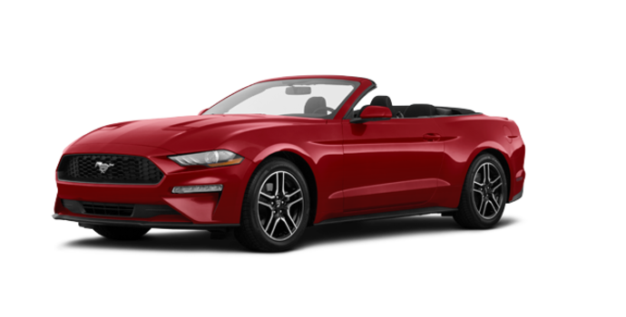 2018 Ford Mustang Convertible EcoBoost | Photo 6 | Ruby Red Metallic Tinted Clearcoat