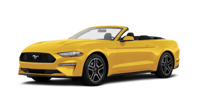 2018 Ford Mustang Convertible EcoBoost | Photo 6 | Triple Yellow Tri-Coat