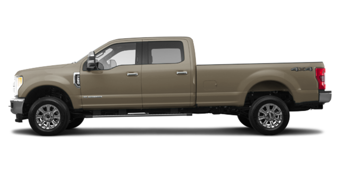 2018 Ford Super Duty F-250 KING RANCH   Photo 4   White Gold