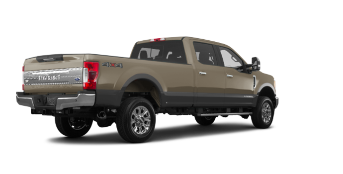 2018 Ford Super Duty F-250 KING RANCH   Photo 5   White Gold/Stone Grey