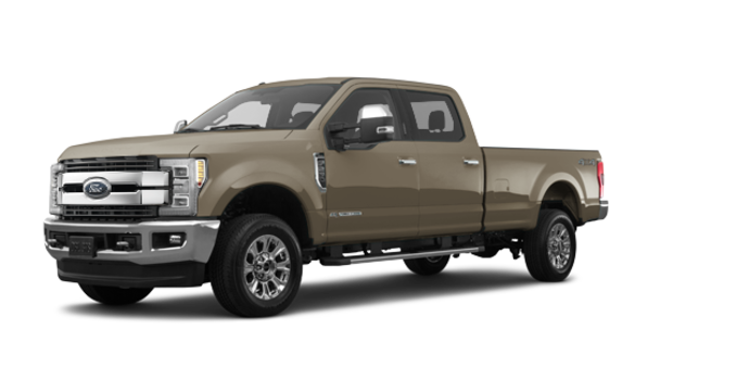 2018 Ford Super Duty F-250 KING RANCH   Photo 6   White Gold