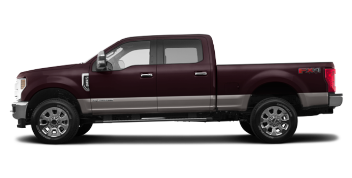 2018 Ford Super Duty F-250 LARIAT | Photo 4 | Magma Red/Stone Grey