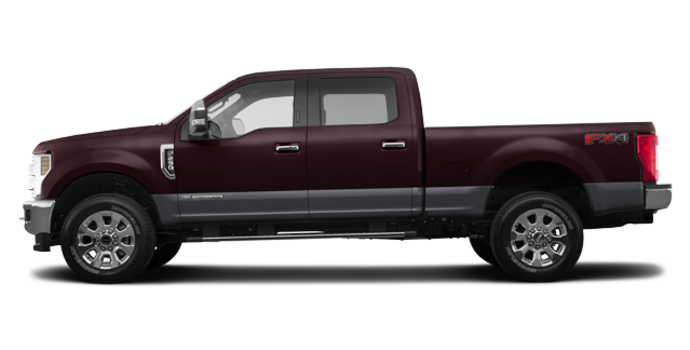 2018 Ford Super Duty F-250 LARIAT | Photo 4 | Magma Red/Magnetic