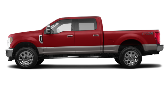 2018 Ford Super Duty F-250 LARIAT | Photo 4 | Ruby Red/Stone Grey