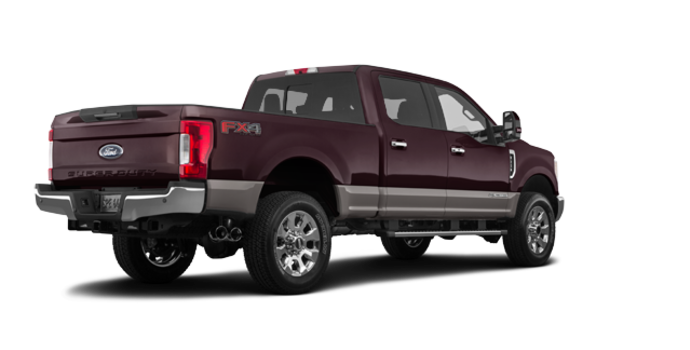 2018 Ford Super Duty F-250 LARIAT | Photo 5 | Magma Red/Stone Grey